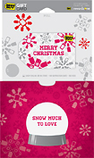 Best Buy GC - $25 Snow Much to Love Holiday Gift Card