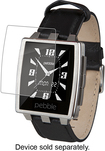 ZAGG - InvisibleSHIELD High-Definition Screen for Pebble Steel - Clear
