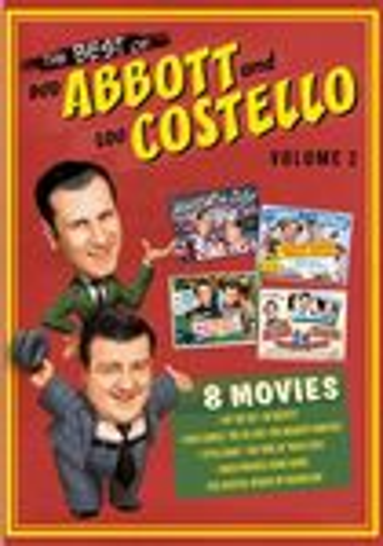 The Best Of Bud Abbott & Lou Cosetello: Volume 2 [4 Discs] (dvd) 6991469