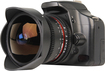 Bower - 8mm T/3.8 Ultrawide Fish-Eye Cine Lens for Most Olympus 4/3 Video DSLR Cameras - Black