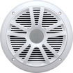 "BOSS Audio Systems - MR6W 6-1/2"" Marine Speakers with Carbon-Composite Cones (Pair) - White"