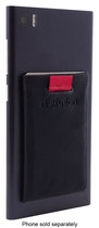 Distil Union - Wally Jr. Stick-On Wallet Pouch for Most Cell Phones - Black