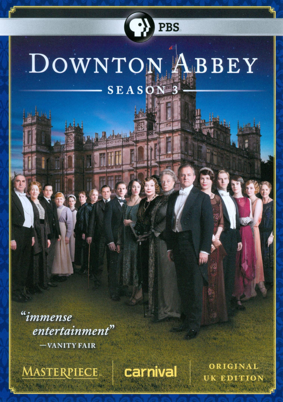 Masterpiece: Downton Abbey - Season 3 (dvd) 7005325