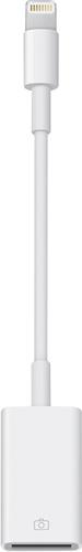 Apple® - Lightning-to-USB Camera Adapter - White