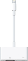 Apple® - Lightning-to-VGA Adapter - White