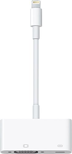 Apple® - Lightning-to-VGA Adapter - White