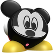 eKids - Mickey Mouse Rechargeable Speaker for Select Apple® Devices - Black/Red
