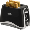 Oster - Inspire 2-Slice Wide-Slot Toaster - Black
