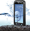Platinum Series - Waterproof Case for Samsung Galaxy S III Cell Phones - Black
