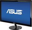 "Asus - 27"" Widescreen Flat-Panel LED HD Monitor - Black"