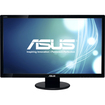 "Asus - 27"" Widescreen Flat-Panel LED HD Monitor - Black"