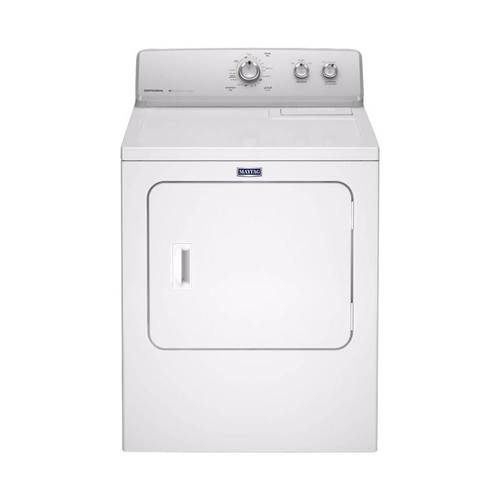 Maytag - 7.0 Cu. Ft. 15-Cycle Electric Dryer - White