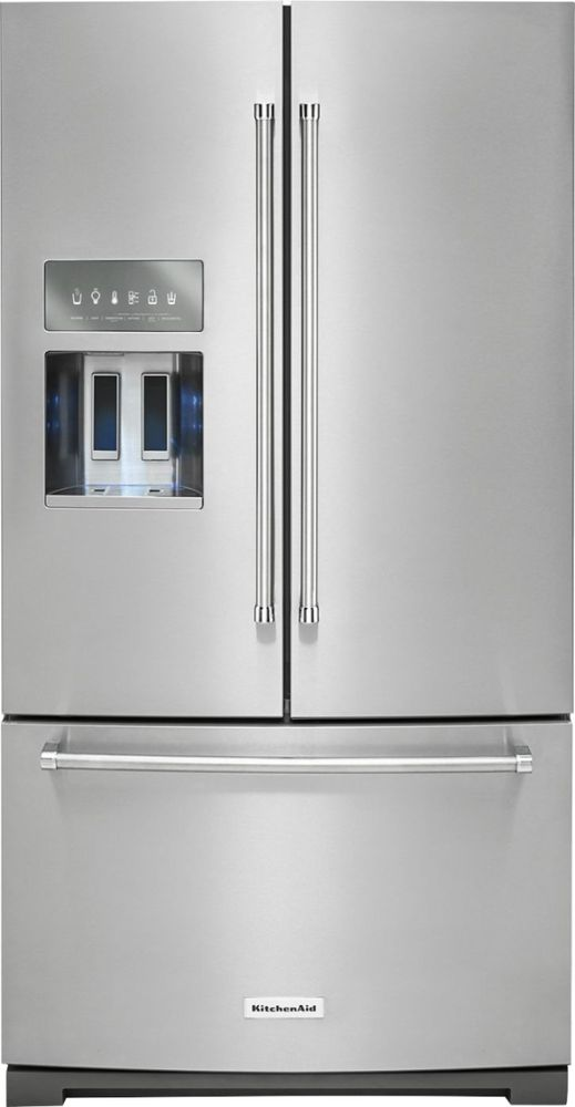 Kitchenaid 268 Cu Ft French Door Refrigerator Stainless Steel