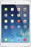 Apple® - iPad® mini with Wi-Fi + Cellular - 64GB - (AT&T) - Silver/White