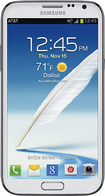 Samsung - Galaxy Note II 4G Cell Phone - White (AT&T)