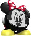eKids - Minnie Mouse Rechargeable Speaker for Select Apple® Devices - Black/Red