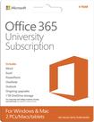 Office 365 University (2 Macs or PCs) (4-Year Subscription) - Windows|Mac