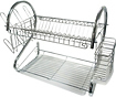 "Better Chef - 16"" Chrome Dish Rack - Chrome"
