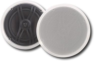 Wonderful Yamaha   2 Way In Ceiling Speakers (Pair)   White