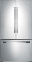 Samsung - 25.7 Cu. Ft. French Door Refrigerator - Stainless-Platinum