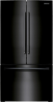 Samsung - 25.7 Cu. Ft. French Door Refrigerator - Black