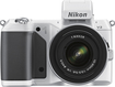 Nikon - 1 V2 Compact System Camera with 10-30mm VR Lens - White