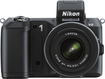 Nikon - 1 V2 Compact System Camera with 10-30mm VR Lens - Black