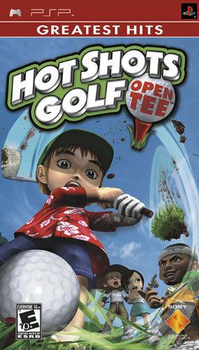 Hot Shots Golf: Open Tee Greatest Hits - PSP