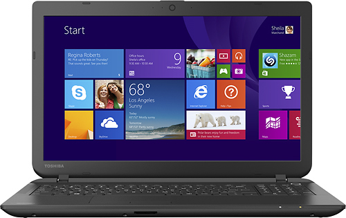 Popular on Best Buy : Toshiba   Satellite 15.6 Laptop   AMD A8 Series   4GB Memory   750GB Hard Drive   Jet Black
