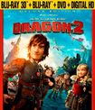 How To Train Your Dragon 2 [3d/2d] [blu-ray/dvd] [includes Digital Copy] 7046177