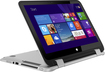 "HP - Pavilion x360 2-in-1 13.3"" Touch-Screen Laptop - Intel Core i3 - 4GB Memory - 500GB Hard Drive - Natural Silver/Ash Silver"