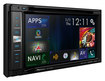 "Pioneer - NEX - 6.2"" - Built-In GPS - CD/DVD - Built-In Bluetooth - In-Dash Receiver with Partially Detachable Faceplate - Black"