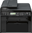 Canon - imageCLASS MF4770n Network-Ready Black-and-White All-In-One Printer - Black