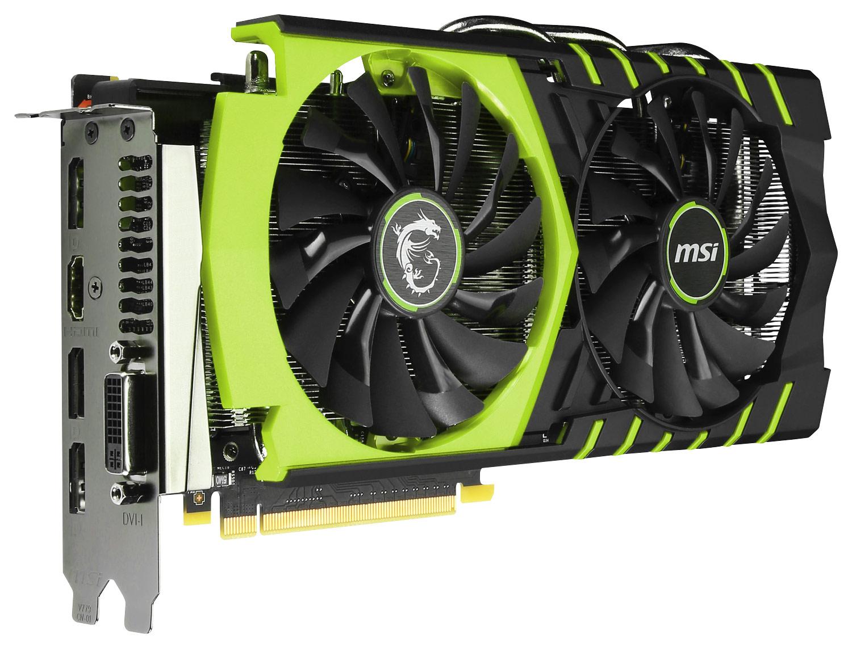 MSI - NVIDIA GeForce GTX 960 2GB GDDR5 PCI Express 3.0 Graphics Card - Black/Green
