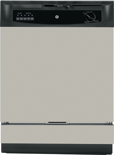 "GE 24"" Built-In Dishwasher Silver GSD3340DSA"
