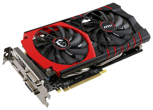 MSI - Nvidia GeForce GTX 970 4GB GDDR5 PCI Express 3.0 Graphics Card - Multi
