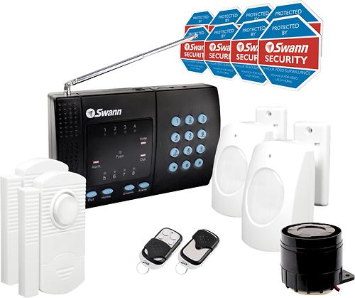 Swann - Home Wireless Alarm System - Black