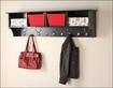 """Prepac - 60"""" Entryway Cubby Shelf - Black"""