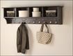 """Prepac - 60"""" Entryway Cubby Shelf - Espresso"""