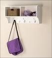 "Prepac - 36"" Entryway Cubby Shelf - White"
