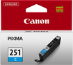 Canon - 251 Ink Cartridge - Cyan