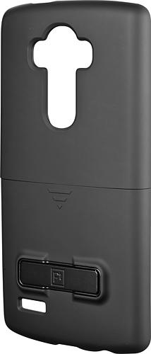 Platinum - Holster Case with Kickstand for LG G4 - Metallic/Ceramic