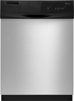 "Amana - 24"" Tall Tub Built-In Dishwasher - Stainless-Steel"