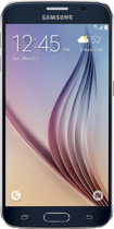 Samsung - Galaxy S6 4G LTE with 32GB Memory Cell Phone - Black (T-Mobile Prepaid)