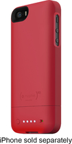 mophie - juice pack Helium Charging Case for Apple® iPhone® 5 and 5s - Red