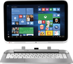 "HP - 2-in-1 13.3"" Touch-Screen Laptop - Intel Core i3 - 4GB Memory - 500GB+8GB Hybrid Hard Drive - Snow White/Ash Silver"