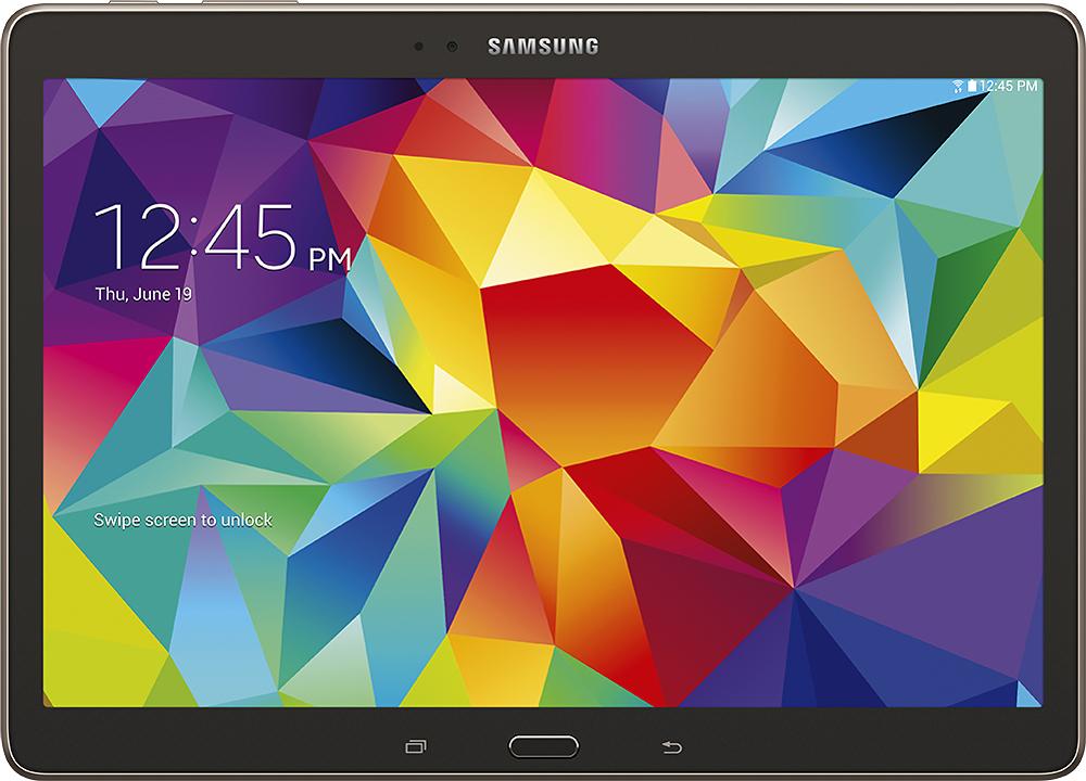"Samsung - Galaxy Tab S - 10.5"" - 32GB - Titanium Bronze"