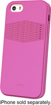 Pong - Rugged Case for Apple® iPhone® 5 and 5s - Radiant Orchid/Gold