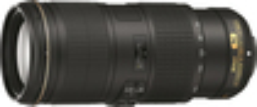Nikon - AF-S NIKKOR 70-200mm f/4G ED VR Telephoto Zoom Lens - Black