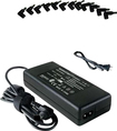 Laptop Battery Pros - 90W Universal AC/DC Power Adapter for Select Laptops - Black